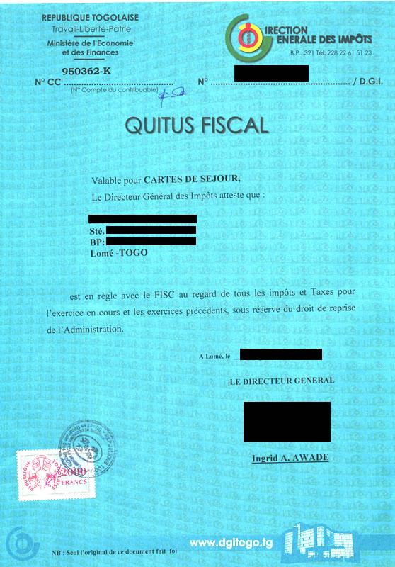 Quitus fiscal