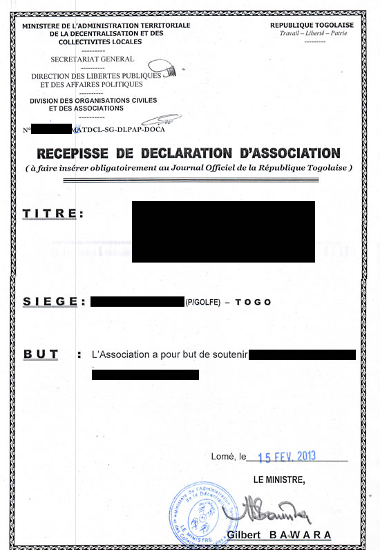 Resume Declaration Format Sample