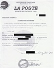 Attestation d'adresse